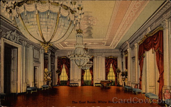 The East Room, White House Washington District of Columbia