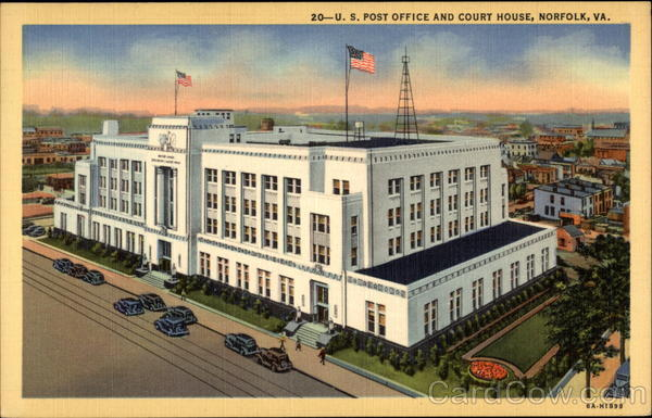 U.S. Post Office and Court House Norfolk Virginia