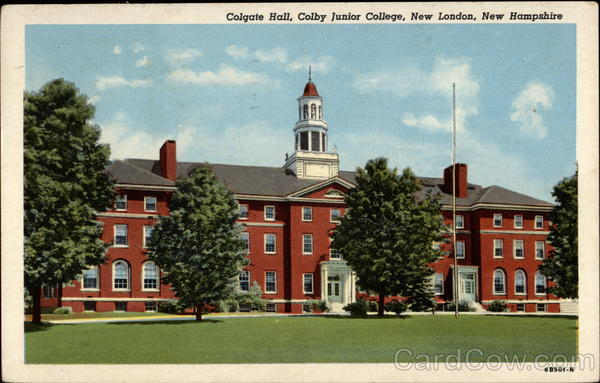Colgate Hall, Colby Junior College New London New Hampshire