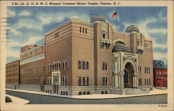 Crescent Shrine Temple (AAONMS Mosque) Trenton New Jersey