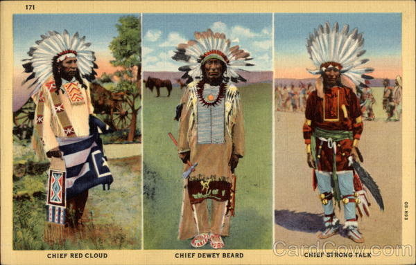 Chief Red Cloud, Chief Dewey Beard, Chief Strong Talk