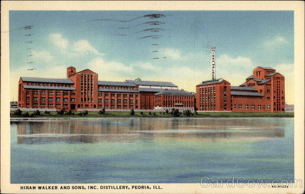 Hiram Walker and Sons, Inc. Distillery Peoria Illinois