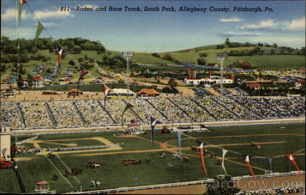 Rodeo and Race Track, South Park, Allegheny County Pittsburgh Pennsylvania