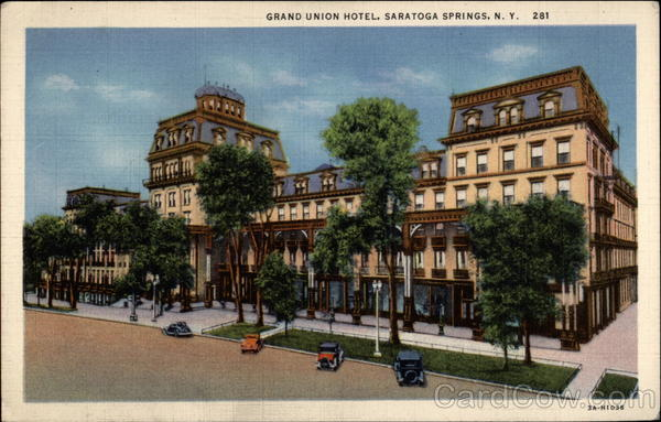 Grand Union Hotel Saratoga Springs
