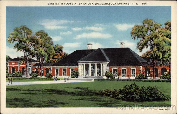 East Bath House at Saratoga Spa Saratoga Springs New York
