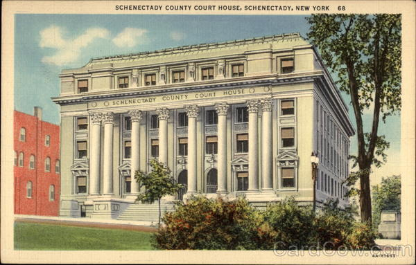 Schenectady County Court House New York