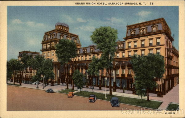 Grand Union Hotel Saratoga Springs New York