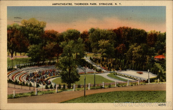 Amphitheatre, Thornden Park Syracuse New York