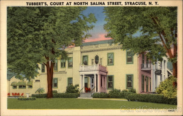 Tubbert's, Court at North Salina Street Syracuse New York