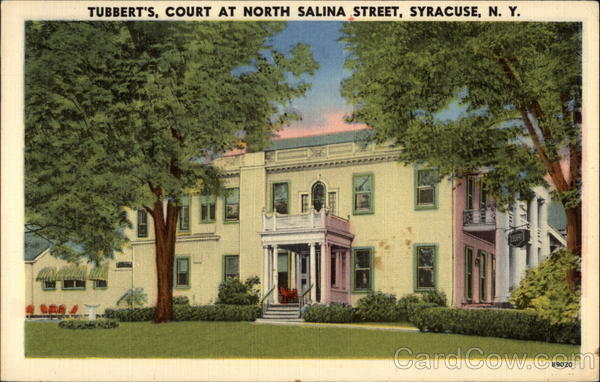 Tubbert's -- Court at North Salina Street Syracuse New York