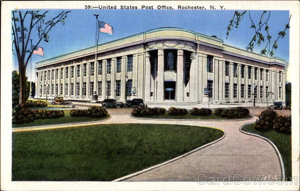 Rochester (IN) United States  city photos gallery : United States Post Office Rochester New York