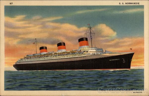 S. S. Normandie Boats, Ships