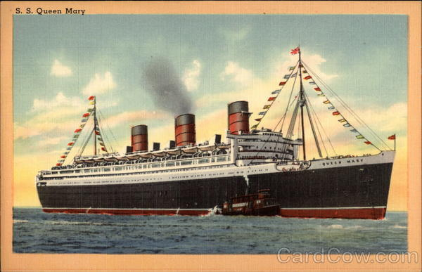 S. S. Queen Mary Steamers
