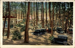 Camp Ground Postcard