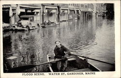 Flood Scene. Water Street