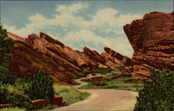 Park of the Red Rocks