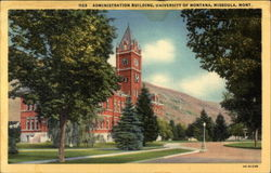 Administration Building, University of Montana