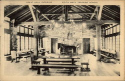 Great Hall interior, Edith Macy Training School