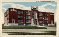 High School, Sapulpa, Oklahoma