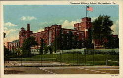 Fishburne Militar School, from tennis courts