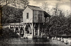 The Saw and Grist Mill, New Salem State Park