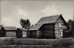 Trent Brothers' Barns at New Salem State Park, Lincoln country