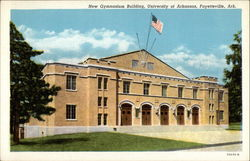 New Gymnasium Building, University of Arkansas