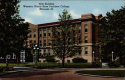 Arts Building, Western Illinois State Teachers College Postcard