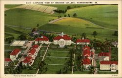 Madison College campus, aerial view