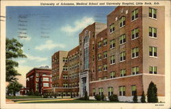 University of Arkansas, Medical School and University Hospital