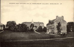 Monroe and Gifford Halls, Middlebury College