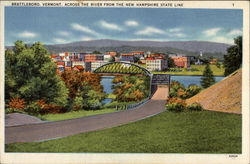 Brattleboro, Vermont, across the River from the New Hampshire State Line
