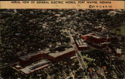 Aerial View of General Electric Works