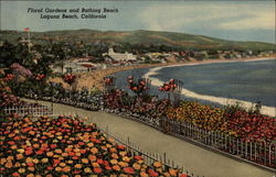 Floral Gardens and Bathing Beach