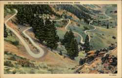 Hairpin Loops, Trail Creek Pass