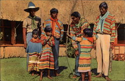 First Lesson, the Seminole Indians, Florida