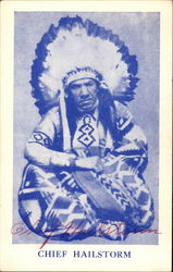 Chief Hailstorm - Hand Signed