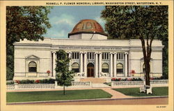Roswell P. Flower memorial Library, Washington Street