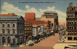 Main Street From Lafayette Square
