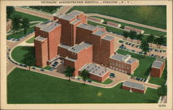 Veterans' Administration Hospital Postcard