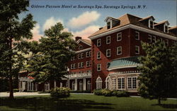 Gideo Putnam Hotel at Saratoga Spa, colorized