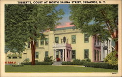 Tubbert's, Court at North Salina Street Postcard