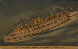 Yankee Flagships Arrow and Comet - Colonial Line