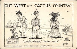 Out West in th' Cactus Country (cartoon)