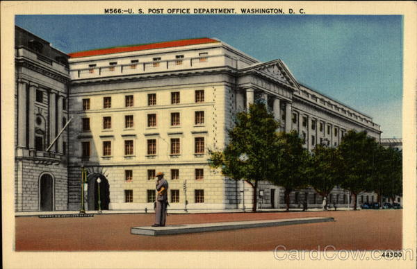 U.S. Post Office Department Washington District of Columbia