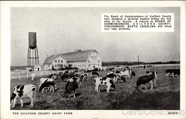 The Gilford County Dairy Farm Greensboro North Carolina