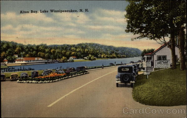 Alton Bay Lake Winnipesaukee New Hampshire