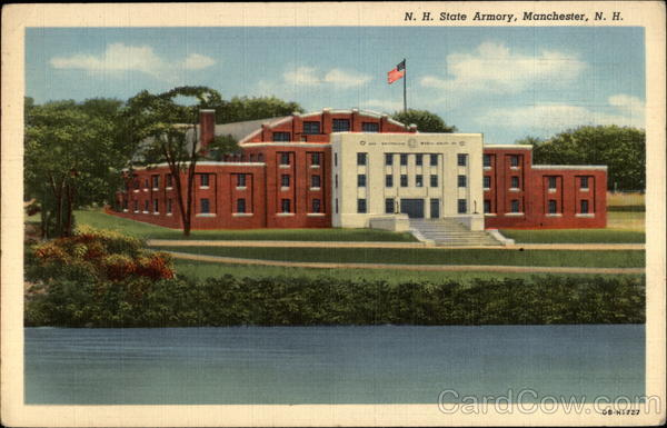 N. H. State Armory Manchester New Hampshire