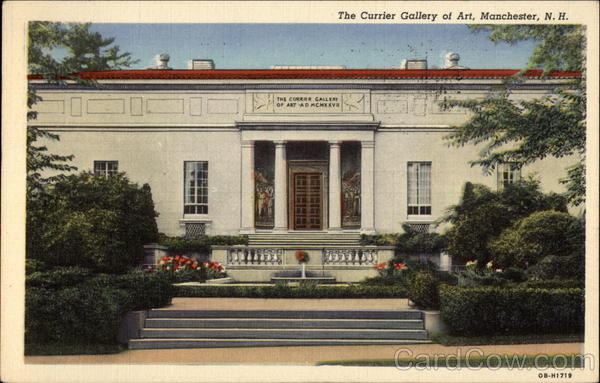 The Currier Gallery of Art Manchester New Hampshire