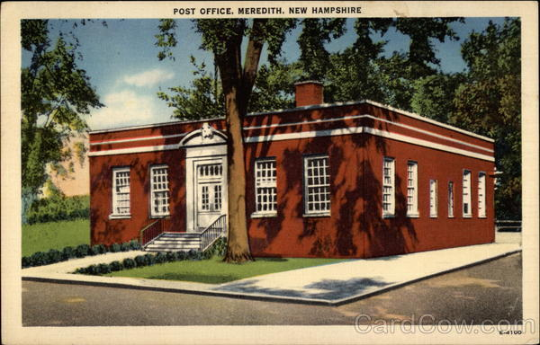 Post Office Meredith New Hampshire